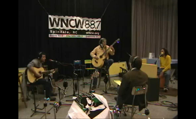 Live interview at WNCW Studio B